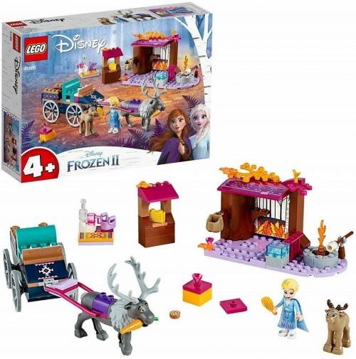 LEGO Disney Frozen 2 L'Avventura sul Carro di Elsa 41166 Elsa 116 pz mshop