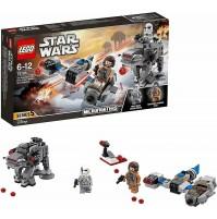 LEGO STAR WARS Ski Speeder vs. First Order Walker Microfighter 75195 216pz mshop