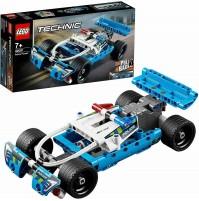 LEGO Techinc Inseguimento della Polizia 42091 Veicolo Auto da Corsa 120 pz mshop