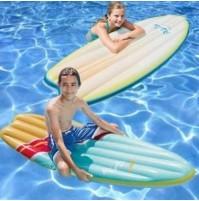 MATERASSINO GONFIABILE TAVOLA SURF INTEX 58152 GALLEGGIANTE MARE PISCINA mshop