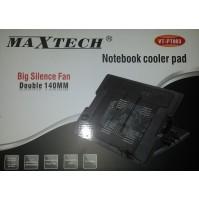 MAXTECH SUPPORT VENTOLA RAFFREDDA NOTEBOOK PC REGOLABILE 2 VENTOLE VTPT003 mshop