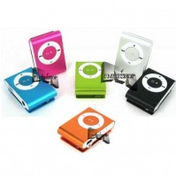MINI LETTORE MP3 PORTATILE MEMORIA MICRO SD CARD FINO 8 GB USB MUSICA mshop