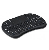 MINI TASTIERA WIRELESS KEYBOARD QWERTY MOUSE TOUCHPAD XBOX IOS ANDROID mshop