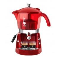 MOKONA BIALETTI MACCHINA CAFFE ESPRESSO 20 BAR ROSSA TRASPARENTE COFFE CF mshop