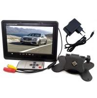 """MONITOR LCD 7"""" CON TELECOMANDO DVB-T CASA AUTO VIDEO TVCC msh"""