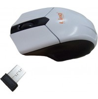 MOUSE WIRELESS 2.4GHZ USB OTTICO 1600 DPI PC NOTEBOK 3 TASTI LINQ LI-W188 mshop