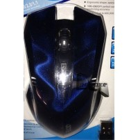 MOUSE WIRELESS OTTICO LED 10M USB 2.4Ghz 2000 DPI PC NOTEBOOK 5 TASTI JITE mshop