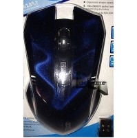MOUSE WIRELESS OTTICO USB 2.4Ghz 2000 DPI LED PC NOTEBOOK 5 TASTI 10M JITE mshop