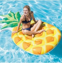 Materassino gonfiabile Ananas Intex 58761 materasso grande mare piscina mshop