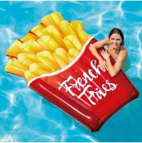 Materassino patatine fritte 58775 Intex gonfiabile french mare piscina mshop