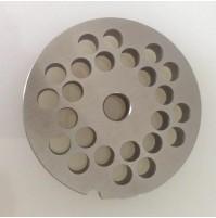 Piastra TC 12 Reber diametro 8 mm acciaio per tritacarne elettrico mshop