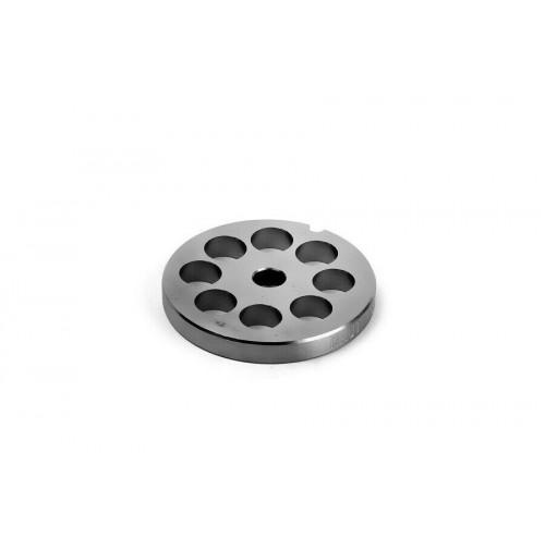 Piastra acciaio inox Tre Spade TC 8 tritacarne fori mm 12 mshop