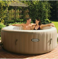 Piscina idromassaggio Intex 28404 pure bubble SPA 191 x 71 cm con pompa mshop