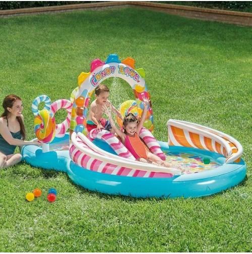 Piscina play center Caramelle 57149 Intex dolcetti bambini gonfiabili mshop