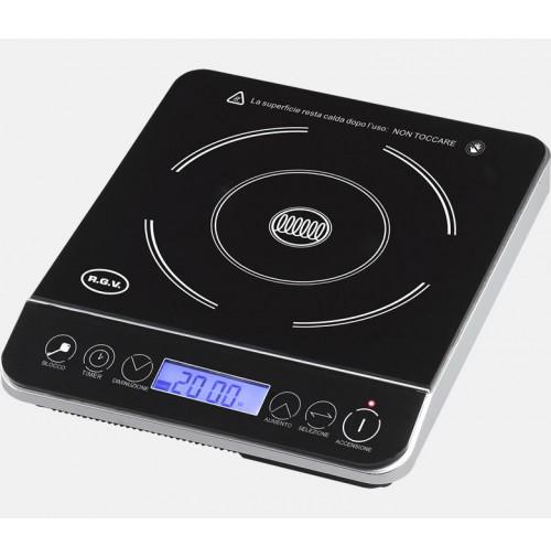 Rgv piastra piano induzione cottura cucina elettrica display lcd pi 2000 mshop - Piastra elettrica cucina ...