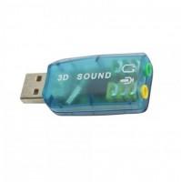 SCHEDA AUDIO USB CON MICROFONO E CUFFIE PLUG PLAY PERIFERICA ESTERNA LINQ mshop