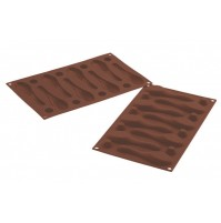 SILIKOMART STAMPO CUCCHIAINO CUCCHIAINI SILICONE MY CHOCOLATE SPOON SF142 mshop