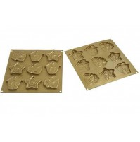 SILIKOMART STAMPO SILICONE BISCOTTI NATALE MY CHRISTMAS COOKIES HSH 02 B mshop