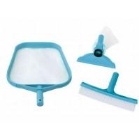 Set di pulizia 29056 Intex per piscina piscine retina retino spazzola mshop