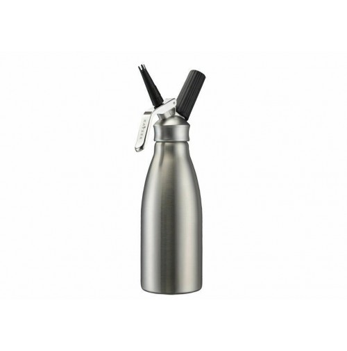 Sifone per panna montata Kayser montapanna acciaio inox creamer 0,5 lt mshop