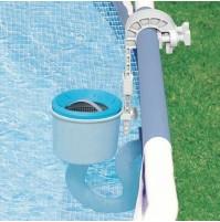 Skimmer Deluxe Intex 28000 con gancio piscina pulizia manutenzione 58949 mshop