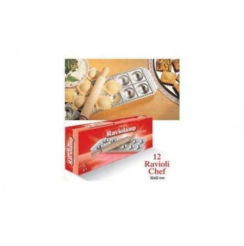 Stampo 12 ravioli da chef Imperia raviolamp classici pasta ripiena 310 mshop