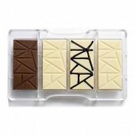 Stampo cioccolatini Decora cioccolatino tavoletta bar dolci policarbonato mshop