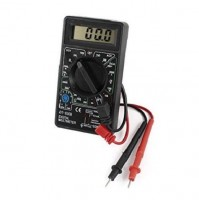 TESTER MULTIMETRO DIGITALE DISPLAY LCD MISURA METRO SONDA AUTO DT-830B mshop