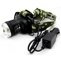 TORCIA FRONTALE LAMPADA FRONTE LED CREE 800 LUMEN BICI SOFTAIR BL-6809 mshop