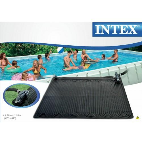 Tappeto pannello solare riscaldamento acqua piscina Intex 28685 cm 120x120 mshop