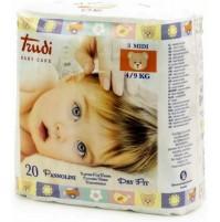 Trudi Baby Care 120 Pannolini Dry Fit Perfo Soft Taglia M 4 / 9 kg 6 Conf. mshop