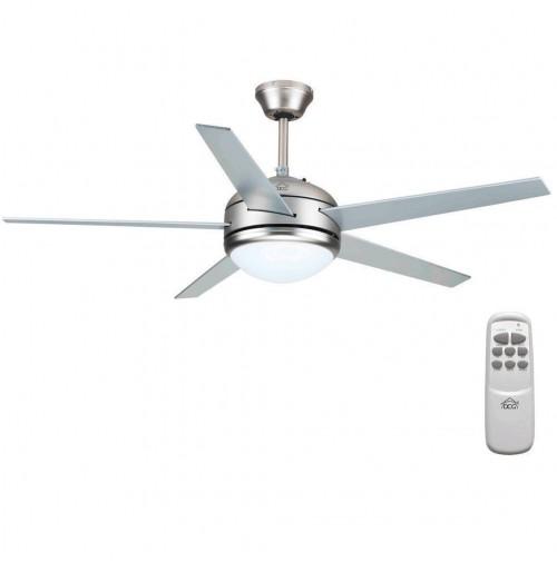 Ventilatore a soffitto da parete telecomando luce lampada Dcg VECRD70TL mshop