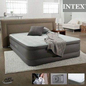 INTEX MATERASSO LETTO AIRBED GONFIABILE QUEEN SIZE MATRIMONIALE 64474 mshop ...