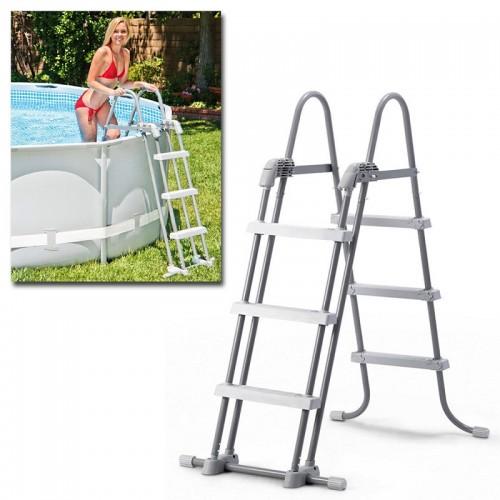 Intex 28072 scaletta scala per piscina piscine frame h 91 - Scaletta piscina intex ...