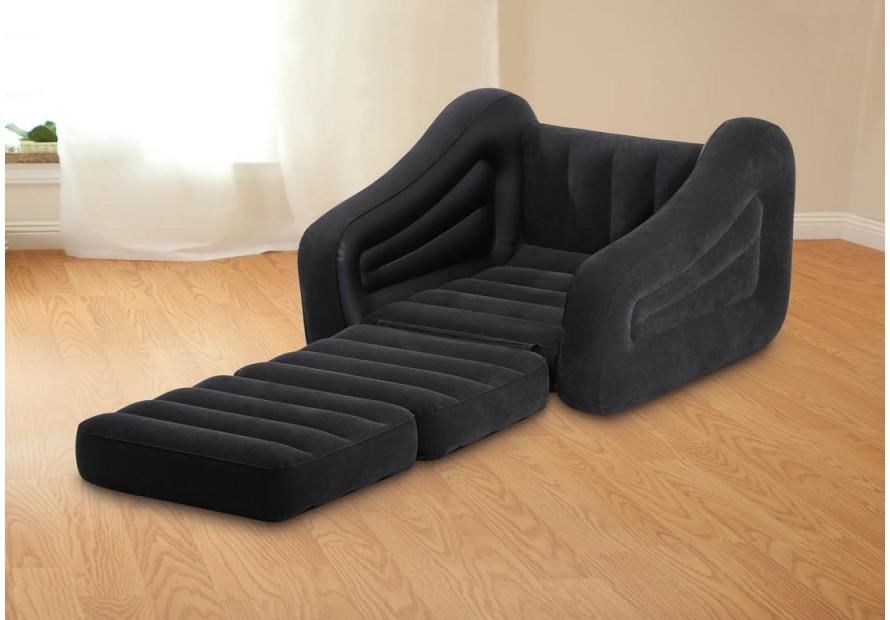 Intex 68565 sofa bed divano letto singolo materasso - Divano letto gonfiabile ...