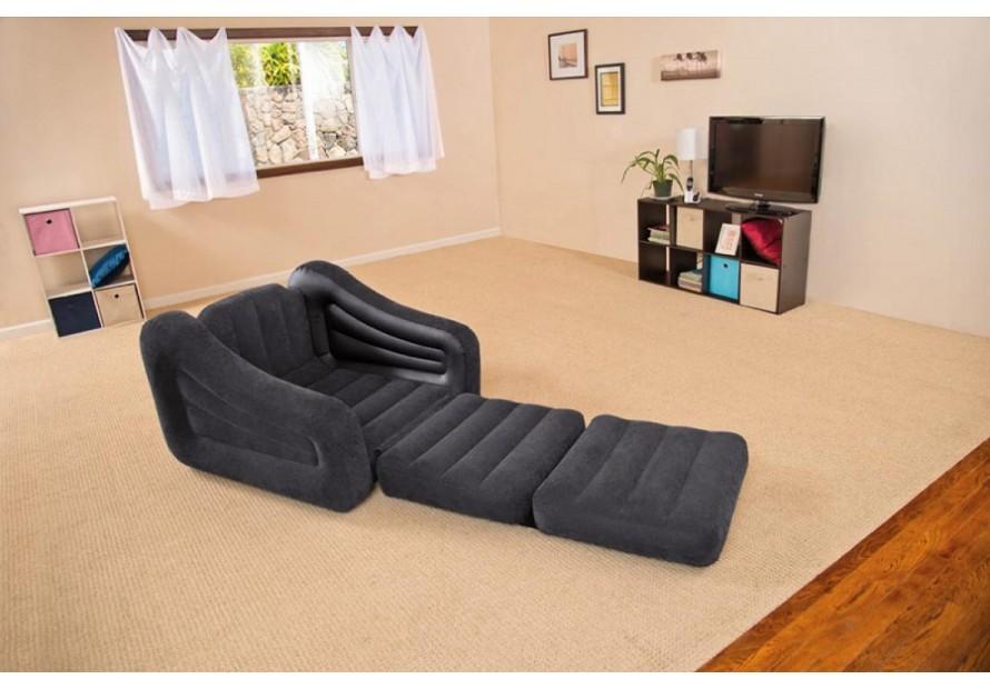 Intex sofa bed materasso gonfiabile divano poltrona pompa