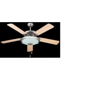Dcg ventilatore da parete soffitto con 5 pale luce - Ventilatore da parete ...