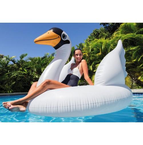 Isola gonfiabile grande cigno intex 56287 giochi for Isola gonfiabile piscina