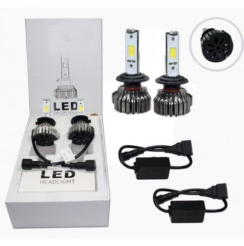 Lampadine a led kit h7 12v 24v lampade fari auto 6000k for Lampadine led lumen