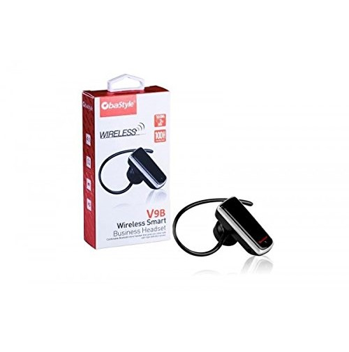 MINI AURICOLARE BLUETOOTH V3.0 MONO CUFFIA WIRELESS SENZA FILI V9B OBASTYLE