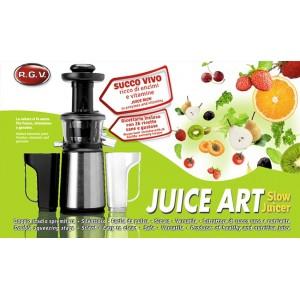 Slow Juicer Rgv Juice Art : ESTRATTORE SUCCHI RGv Slow Juicer R110600 400W JUICE ART 2 CONTENITORI RICETTARI eBay