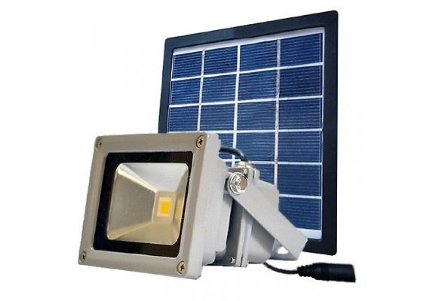 Faretto a led con pannello fotovoltaico faretto solare a led mini