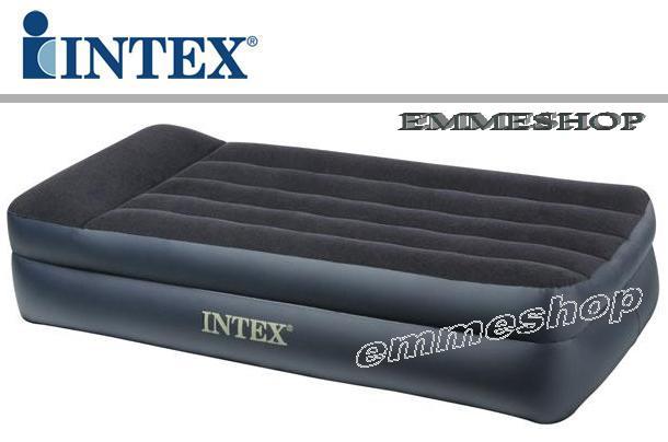 Intex letto materasso gonfiabile singolo con pompa for Letti gonfiabili