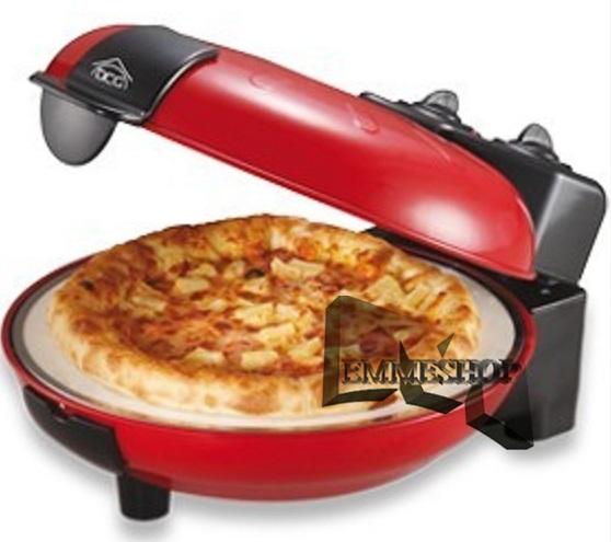 Forno pizza maker elettrico fantasia pietra 1000w mshop ebay - Pietra per forno elettrico ...