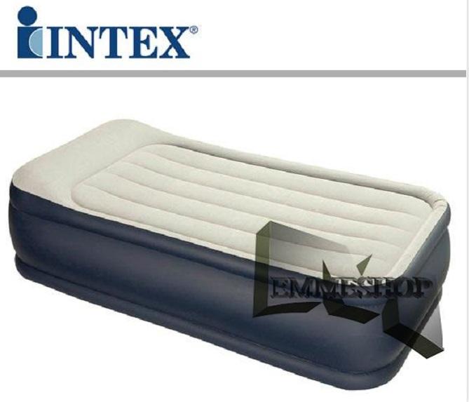 Intex letto materasso gonfiabile singolo 67732 twin con for Letti gonfiabili